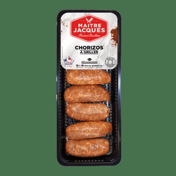 Chorizos griller mini saucisses ap ritif ma tre jacques - Chorizo a griller recette ...